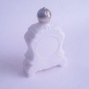 Vintage Avon Bottle Milk Glass
